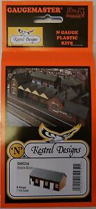 2888fb2e117c Kestrel KD34 Stable Block. (Plastic Model Kit) N Gauge Railway
