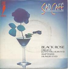 "SAD CAFE - BLACK ROSE - MINT- VINYL 4 TRACK 33RPM LIVE RCA EP 7"""