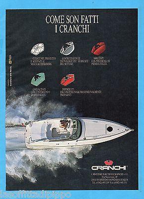 CRANCHI CANTIERE NAUTICO QUATTROR991-PUBBLICITA/'//ADVERTISING-1991