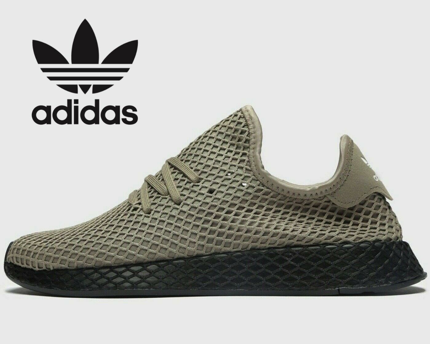 Adidas Originals Deerupt ® ( Men Größes UK  10.5 11 12 ) Clay Khaki Cargo