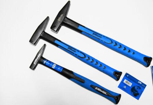 Schlosserhammer 100 g 300 g 500 g Hammerset Hammersatz PROFI Hammer Set 3 tlg