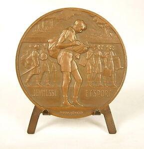 Medaille-Ecolier-etudiant-student-schoolboy-Raoul-Benard-Jeunesse-amp-sport-Medal