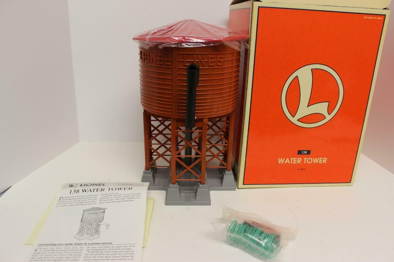 LIONEL- 12916 -  138 OPERATING WATER TOWER ACCESSORY - 0 027 - NEW - M1