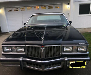 81 Pontiac Parisienne Brougham with Collectors Plate