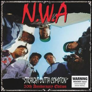 N-W-A-STRAIGHT-OUTTA-COMPTON-20th-Anniversary-CD-ICE-CUBE-DR-DRE-NWA-NEW