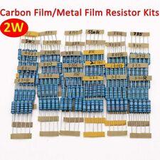 2w Carbon Film Resistorsmetal Film Resistors Kits Electronics Component Kits