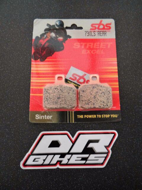Ducati 750 Sport 00 01 02 SBS Street Sintered Rear Brake Pads 730LS