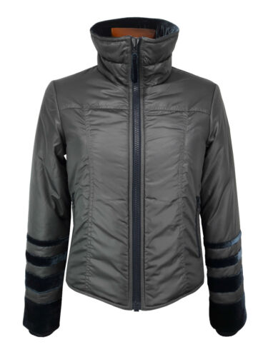 Jacket € 328 00 Size Blu Blue Giubbotto Grigio Retail Woman Gant Donna M Grey CFzTqT