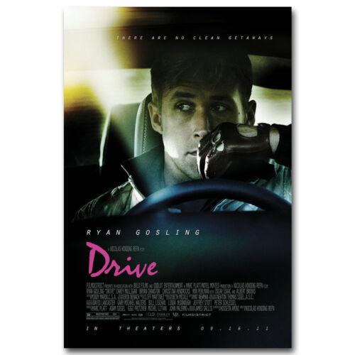 Drive Classic Movie Art Silk Poster Prints 12x18 24x36 inch Wall Decor