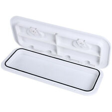 "NEW Amarine-made Boat ABS White 24/"" x 9-5//8/"" ACCESS HATCH /& LID 243X607mm US"