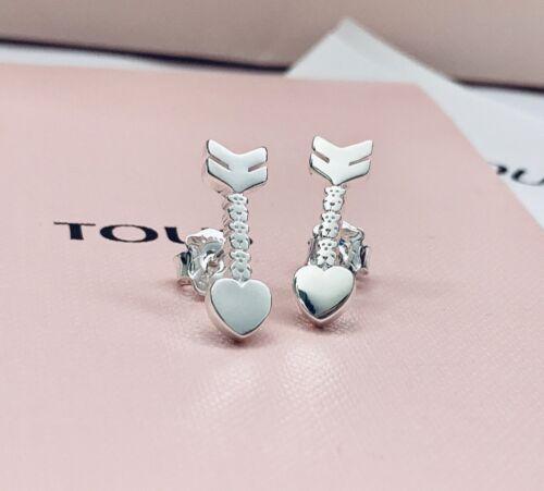 915303510 Original TOUS Silver San Valentin Arrow Earrings