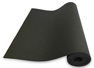 Nama Stayfit Foam Black Yoga Mat 1 4 Inch 72 Inch Long 24