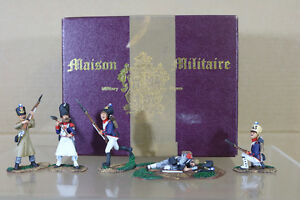 HERITAGE-MINIATURES-MAISON-MILITAIRE-NAPOLEONIC-FRENCH-SOLDIERS-WATERLOO-1815-nf