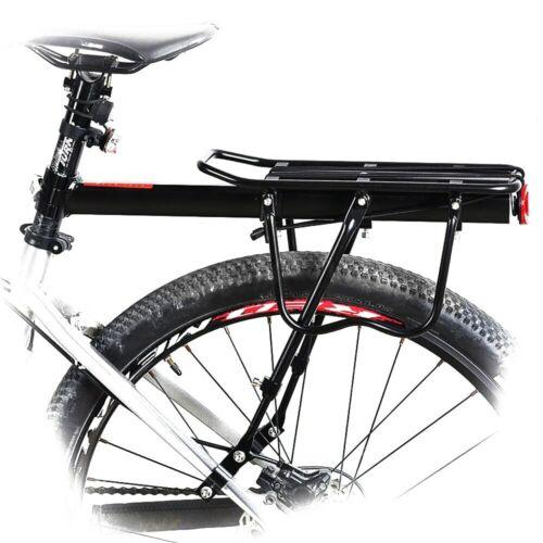 Parrilla De Equipaje Para Bicicleta Practica Se Adapta Muy Facil Color Negro