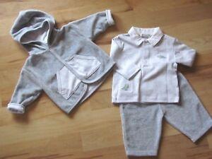 0782e0a42658 Kissy Kissy Infant Boy 0-3 Mo.3 Pc. Gray Dynamic Dinos Pant Set w ...