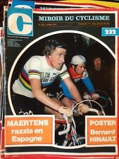 Miroir du Cyclisme n°232  du 12 Mai 1977 / Maertens Poster Hinault