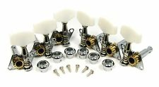 Set of 6 Open-Gear Guitar Tuners/Machine Heads (3L/3R) @ a Great Price! 31-01-01