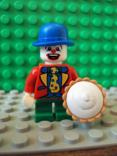 Lego Minifig ~ Series 5 ~ Clown With Pie ~ #9 ~ #9rtfgvn