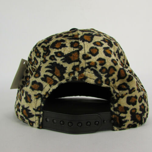Women Men Denim Black Baseball Cap Fashion BOSS Hat Animal Tiger Print Leopard