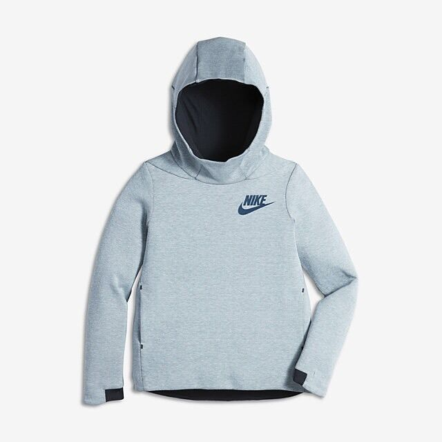 a7fe6f9e8d50 Nike Girls Tech Fleece Hoodie Sz S (830575-411) Retail for sale online