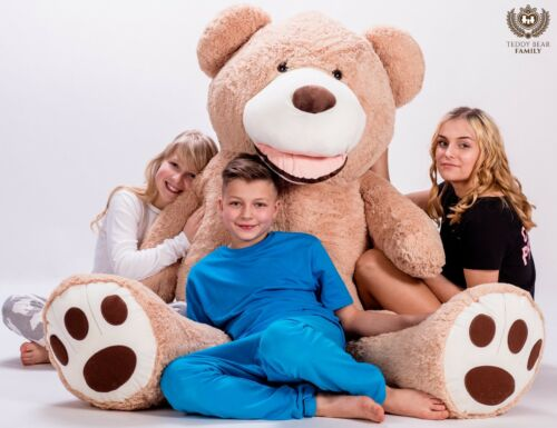 Teddys GIANT LARGE BIG HUGE TEDDY BEAR XXL 160cm 200cm 270cm 63'' BEIGE