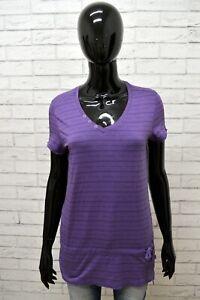 Maglia-CHAMPION-Donna-Taglia-M-Maglietta-Blusa-Shirt-Woman-Cotone-Manica-Corta
