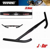 Titec Handlebar J Bar 31.8 660mm ,multi Position ,best For Mtb,touring,tracking