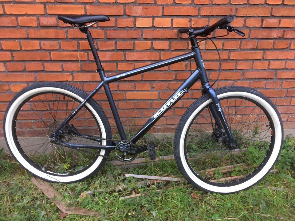 Kona Dew Plus, citybike, 18 tommer