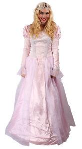 Prinzessin Kostüm für Damen rosa Krone Princess Märchen ...
