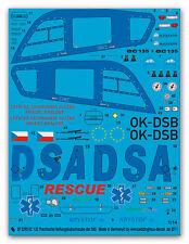 Peddinghaus 2295 1/14 EC 135 Krystof 6 Thechischer Rettungshubschrauber der DAS