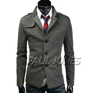 Stylish-Mens-Slim-fit-Stylish-Casual-Formal-Button-Blazer-Jacket-Suit-Coat-Tops