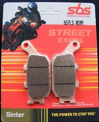 Sbs 657 Ls Bremsbeläge Hinten Honda Cbr 900 Sc44 Sc50 Sc33 Cbr900 Sc28 92- Einen Effekt In Richtung Klare Sicht Erzeugen