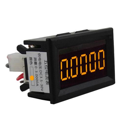 Mini 5 Digital Amperemeter Ammeter Stromanzeige Panelmeter DC 3,5 30 V