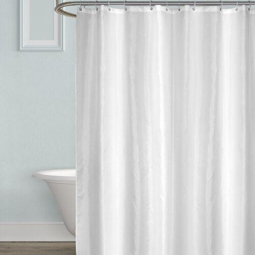 Shower Curtains Shower Curtain Bath Rings Hooks Set ...