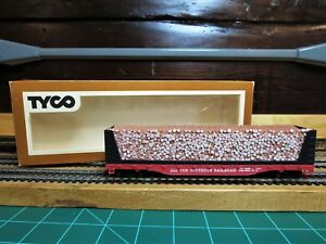 TYCO-334A-HO-Scale-50-039-Pulp-Wood-Car-034-The-Southern-Railroad-034-Ready-to-Run