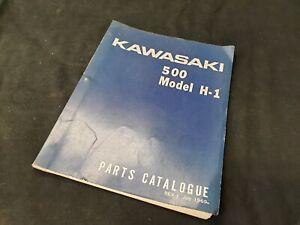 Kawasaki 500 H1  Parts Catalogue 6902A Juli 1969