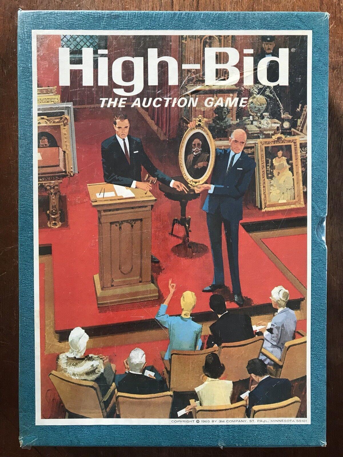 Card Game, High-Bid, 3M, 1965