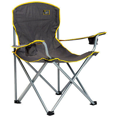 Heavy Duty Folding Camp Chair Outdoor Camping Hiking