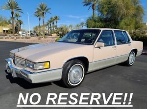 1989-Cadillac-DeVille-NO-RESERVE-100-RUST-FREE-ARIZONA-CAR-LOW-MILES
