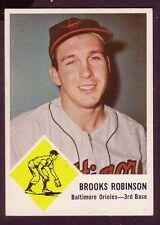 1963 Fleer Brooks Robinson #4 Baseball Card
