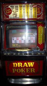 Antique 1986 Igt 25 Cent Draw Poker Working Slot Machine Ebay