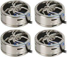 Black Soundstream TWS.4 1-Inch Niobium Micro Dome Tweeters-Set of 2