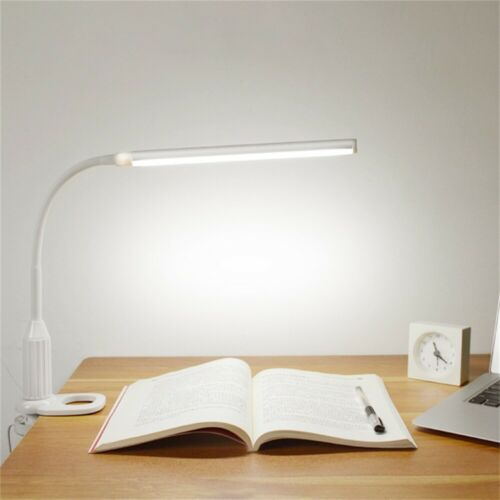 500lm LED Klemmleuchte Klemmlampe Tischleuchte Lernlampe dimmbare Lampe LED