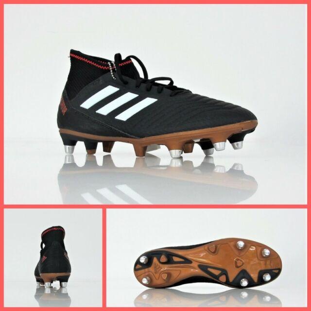 1f0143d1d Scarpe da Calcio Uomo adidas Predator 18.3 SG Nero-bianco-marrone ...