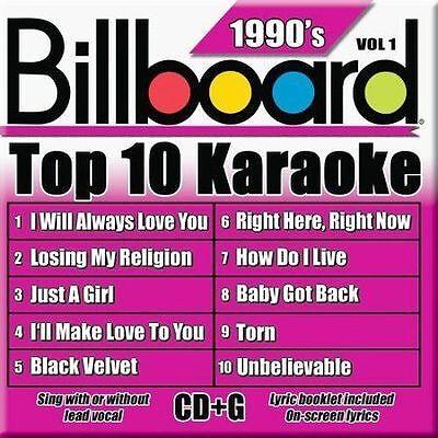 Billboard Top 10 Karaoke - 90's Vol. 1 by Party Tyme Karaoke