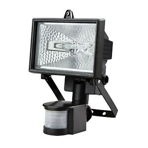 Image Is Loading 500w Halogen Floodlight Security Light With Motion Pir