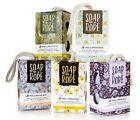European Soaps SOAP ON A ROPE COLLECTION, Pre De Provence 7oz./200 g. You Choose
