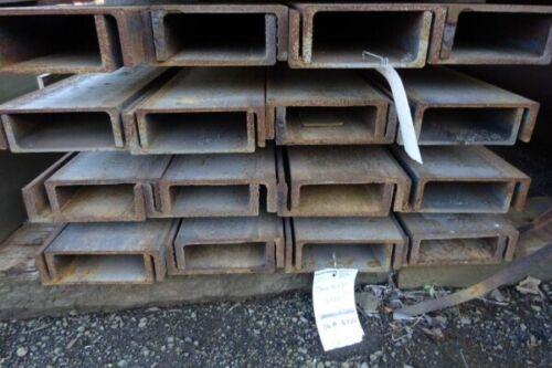 Pfc 14.000mtr Long 230 x 75 x 25.7kg//m Unused Stock Rusty Steel Channel