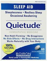 Boiron Quietude Natural Sleep Aid Sleeping Pills 60 Quick Dissolving Tablets on sale