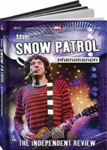 THE SNOW PATROL PHENOMENON DVD + HARDBACK 72 PAGE BOOK NEW SEALED DOCU BIOGRAPHY